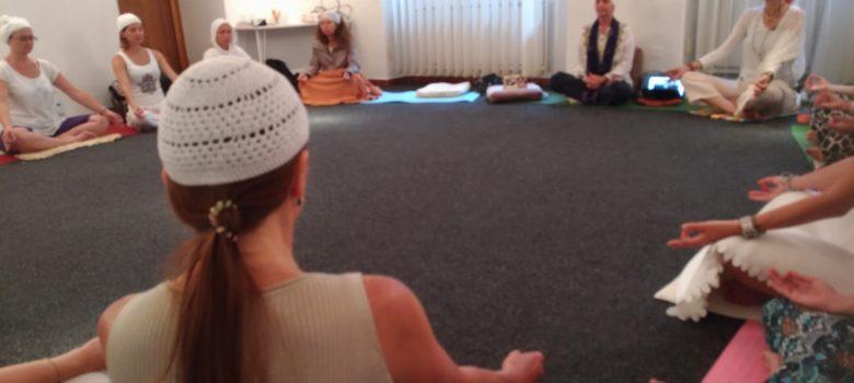 Incontro di meditazione con Guru Jiwan Kaur, Praga, 2017